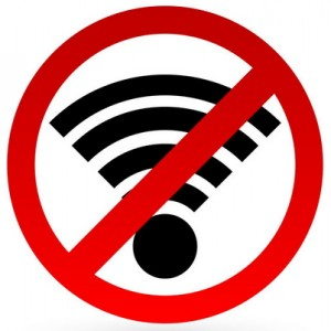 Turn it ALL off. Yes, even the WiFi. ESPECIALLY the WiFi